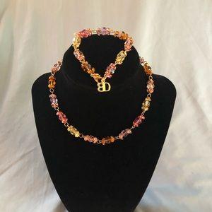 Blair Delmonico necklace and bracelet set